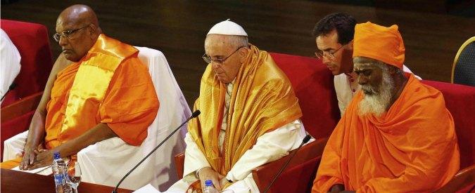 """Papa Francesco in Sri Lanka: """"Rispetto per la dignità e la libertà di tutti"""""""