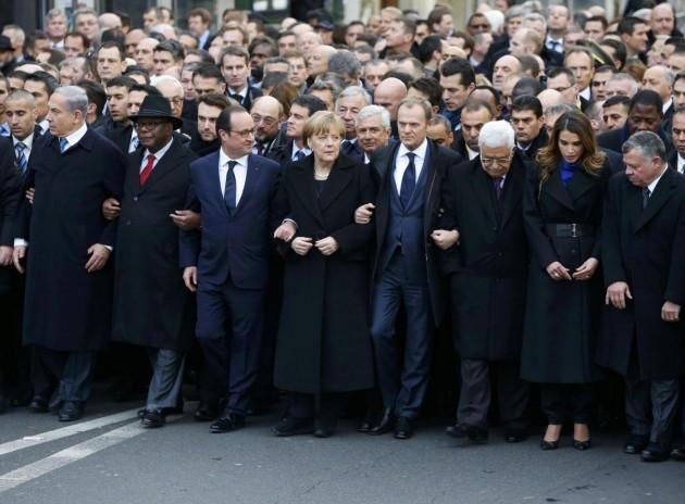 Parigi, un milione in piazza per ricordare le vittime di Charlie