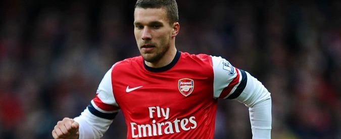 Podolski all'Inter, manca solo l'ufficialità: il tedesco nelle prossime ore a Milano