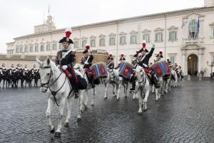 Festa del Tricolore, cambio della Guardia solenne