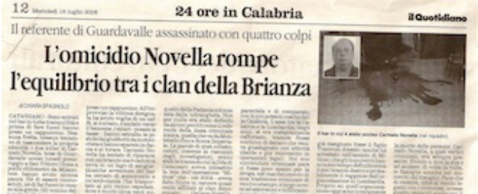 'Ndrangheta in Lombardia, arrestato l'ultimo mandante dell'omicidio Novella