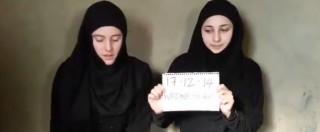 """Vanessa e Greta rapite, video su YouTube. Jihadisti al-Nusra: """"Le abbiamo noi"""""""