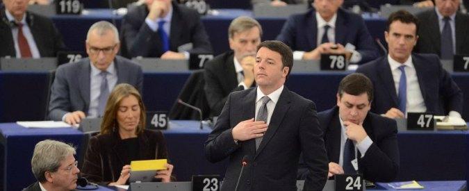 """Semestre Ue, discorso chiusura Renzi: """"Europa di vincoli e austerità è errore"""""""