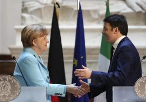 Firenze,vertice bilaterale Renzi-Merkel