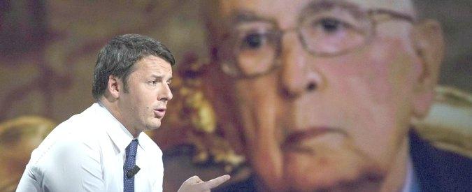 Sondaggio: Renzi, -4 punti in 7 giorni. Dimissioni Napolitano, 86% favorevole