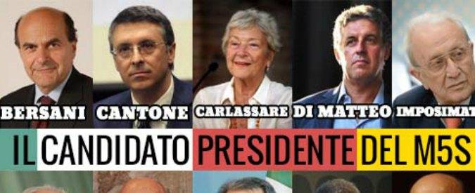 Quirinale, ecco la lista di candidati M5S: ci sono anche Prodi e Bersani