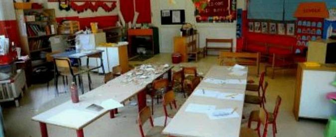 Asilo Sesto San Giovanni, cade intonaco in scuola materna. Sette bambini feriti