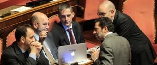 """Italicum, minoranza Pd: """"Con premio lista e ballottaggio chance di vittoria a M5S"""""""