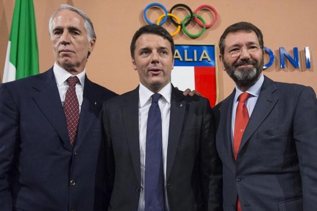 Coni-Renzi-Malagò-Marino