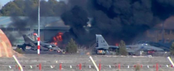 Spagna, sale a 11 il numero dei morti nello schianto del caccia F-16 greco