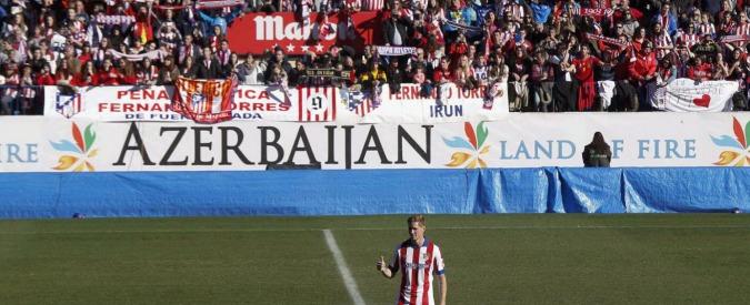 Fernando Torres torna all'Atletico Madrid: in 45mila alla presentazione