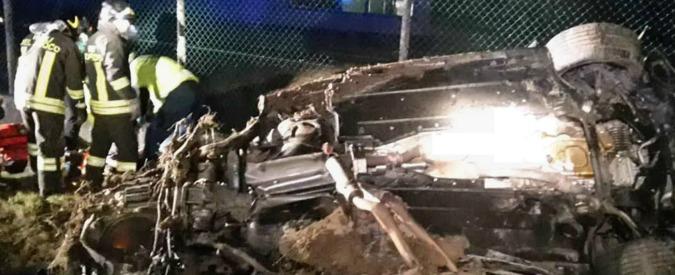 Treviso, inseguimento dopo un colpo al bancomat: due banditi morti in incidente