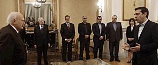 Elezioni Grecia, Tsipras ha giurato: è il nuovo premier. Alleanza con Anel