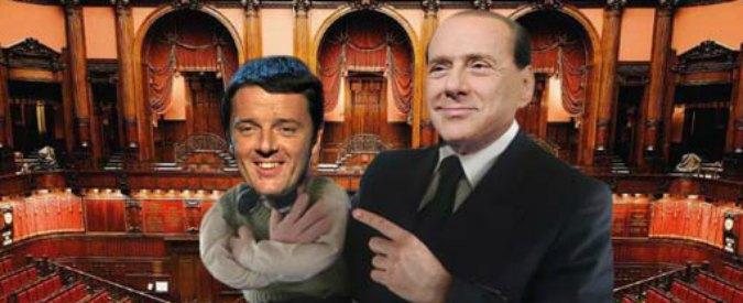 """Salva Berlusconi, Grillo: """"Questa gente ha la faccia come il culo. Renzi il burattino"""""""