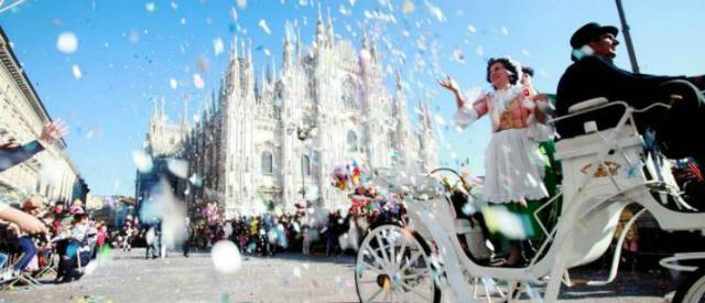 Carnevale ambrosiano 2015, Milano in festa tra clown in piazza e dolci
