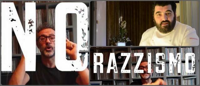 Chef contro il razzismo, Cannavacciuolo e Bottura testimonial nel video di Agape