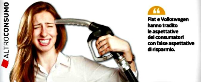 Consumi 'fasulli', Altroconsumo deposita la class action contro Fiat e Volkswagen