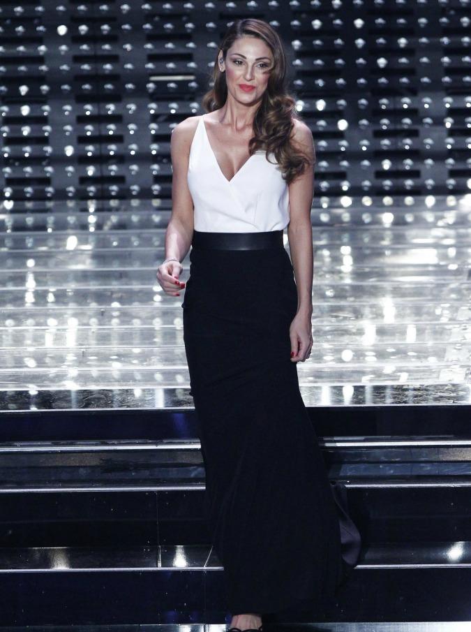 """Sanremo 2019, Anna Tatangelo si sfoga a Domenica In: """"Io trash? Ci sono pregiudizi contro di me"""""""