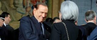 """Berlusconi a Bindi: """"Si è commossa, non ce lo aspettavamo da un uomo"""""""