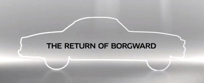 Borgward, dopo 50 anni rinasce il marchio tedesco. Grazie a fondi cinesi