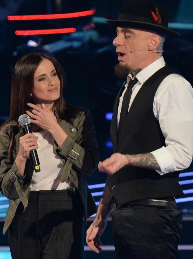 Paola e Chiara, la ex bionda Iezzi a The Voice. Auditel buono per la prima puntata