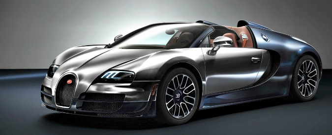 bugatti veyron fine corsa per l auto pi folle e meno. Black Bedroom Furniture Sets. Home Design Ideas