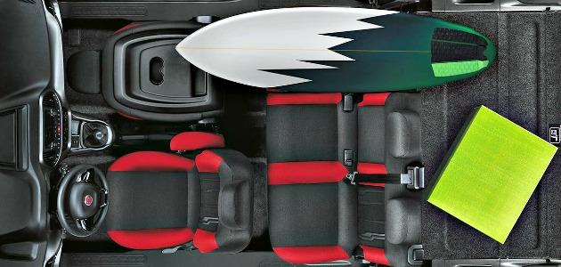 Fiat Doblò 2015 interno