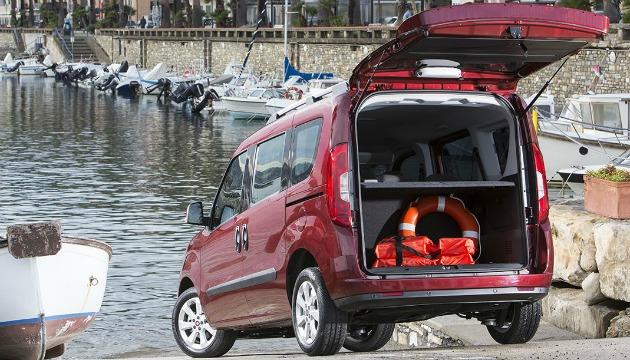 Fiat Doblò bagagliaio