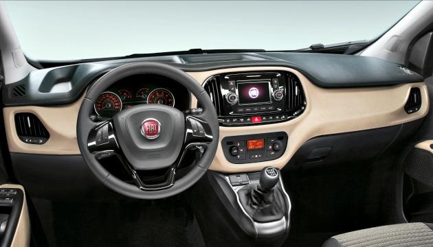 Fiat Doblo 2015 plancia