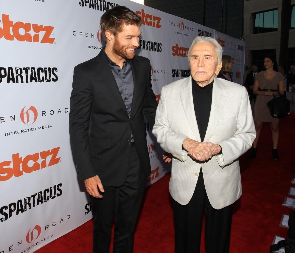 "Starz Celebrates Kirk Douglas And ""Spartacus"""
