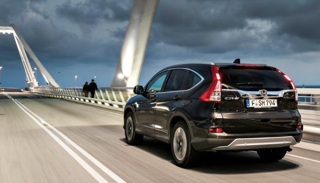 Honda CR-V 2015 post