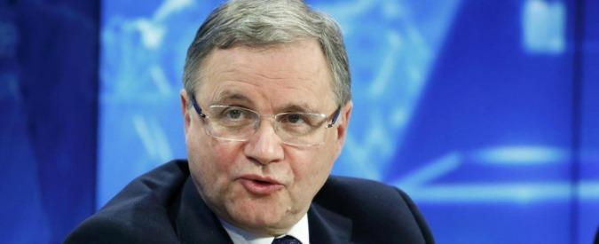 """Il governatore della Banca d'Italia Visco boccia i direttori dei giornali: """"Non sanno niente di economia"""""""