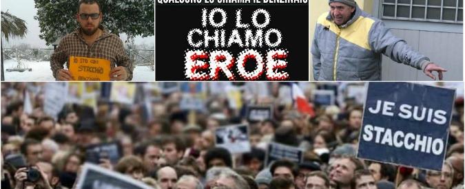 Stacchio, per il benzinaio solidarietà 2.0: #iostoconstacchio (storify)