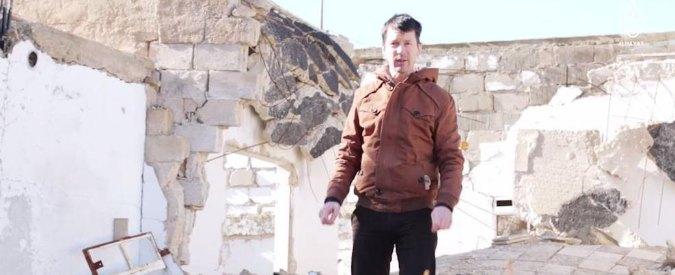 """Isis, nuovo video dell'ostaggio Cantlie da Aleppo: """"Svelo le bugie dell'Occidente"""""""
