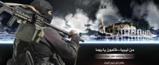 """Isis, nuove minacce all'Italia: """"Non entrate in guerra"""". Appello ai lupi solitari"""