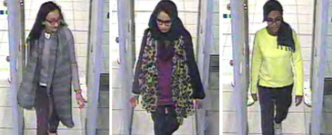 """Isis, Londra: """"Entrate in Siria le tre adolescenti inglesi scomparse"""""""