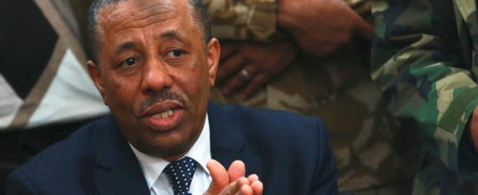 """Libia, Al Thani: """"Occidente non vuole armare l'esercito"""". Interrotta la trattativa Onu"""