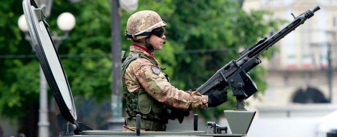 Missioni militari, la Difesa sfora il budget di 300 milioni: costo da 0,9 a 1,2 miliardi