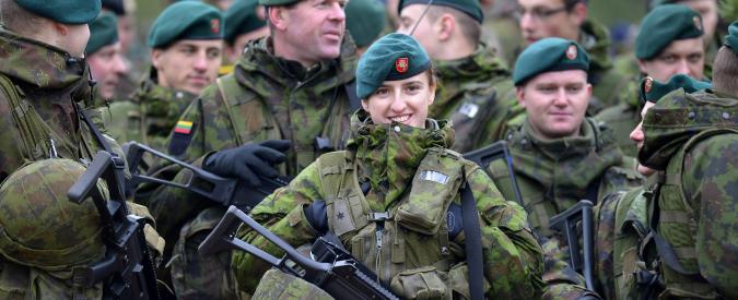 """Ucraina, Lituania reintroduce la leva militare: """"A settembre 3mila uomini"""""""