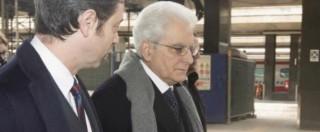 """Mattarella: """"Nel Paese forte bisogno di legalità. Magistrati? No a protagonismi"""""""