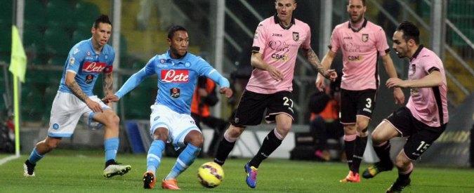 Palermo-Napoli 3-1. Rosanero incantano, azzurri brutti come a inizio stagione