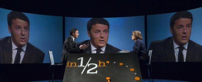 """Renzi: """"Landini sceglie la politica perché ha perso con Marchionne"""""""
