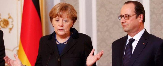 """Crisi Grecia, scintille Parigi – Berlino: """"Francia o Germania usciranno da euro"""""""