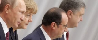 Ucraina, a Minsk vincono i ribelli. Bene Putin, Merkel e Hollande. Ko Kiev e Ue