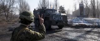 """Ucraina, via a cessate il fuoco. Putin a Merkel e Hollande: """"Impegno per tregua"""""""