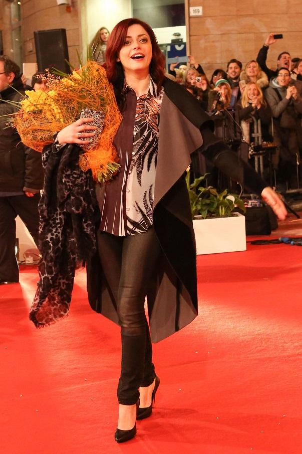 Sanremo 2015, i 20 Big sfilano sul red carpet del teatro Ariston