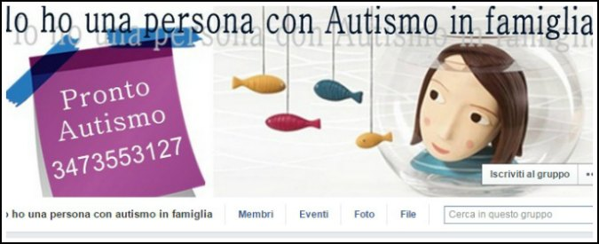 """Autismo, il gruppo Facebook di mutuo-aiuto: """"Insieme troviamo soluzioni"""""""