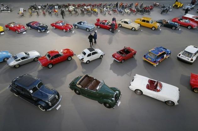 Parigi, salone di auto d'epoca