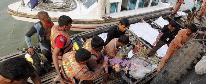 """Bangladesh, affonda un traghetto: """"Almeno 33 morti"""""""