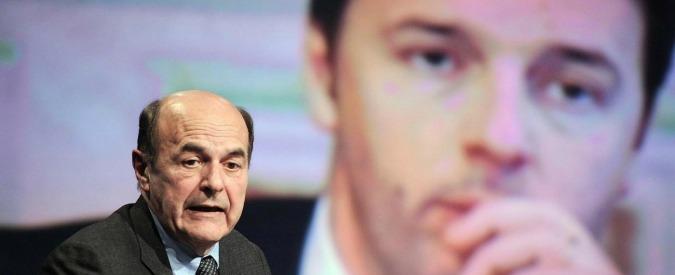 """Bersani vs Renzi: """"Chi pensa sia meglio somigliare agli Usa non ha capito l'Italia"""""""
